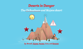 deserts in danger
