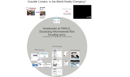Introduction to PARCC: