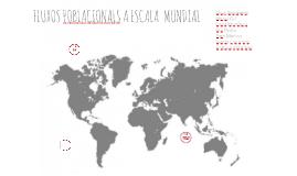 Fluxos poblacionals a escala mundial