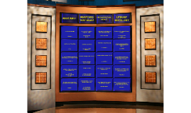 Figurative Language Jeopardy