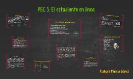 PEC 3. El estudiante en línea