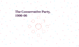 The Conservative Party, 1900-06