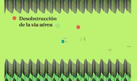 Obstrucción de la via aérea