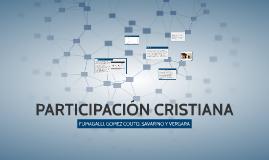 PARTICIPACIÓN CRISTIANA