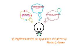 Copy of Copy of La planificación de la acción educativa