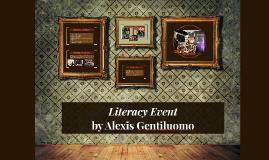 Literacy Event
