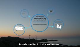 Retningslinjer for bruk av sosiale medier i Utsira kommune»
