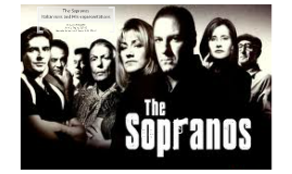The Sopranos Italianisms and Mis-representations
