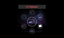 8.1- Polynomials