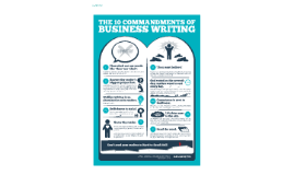 THE 10 COMMANDMENTS OF BUSINESS WRITING