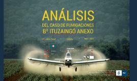 Análisis del caso de fumigaciones B° Ituzaingó Anexo