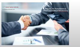 Precios de Transferencia en la contabilidad Electronica.