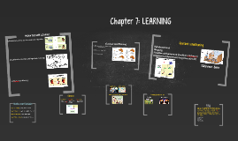 Chapter 7: LEARNING