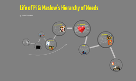 "Copy of Multimedia Essay-Life of Pi and Maslow's ""Hierarchy of Needs"""