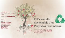 El Desarrollo Sustentable y los Proyectos Productivos.