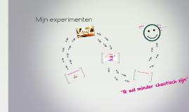 Mijn experiment