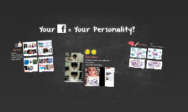 Your FaceBook = Your Personality?