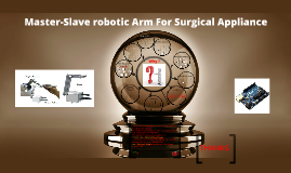Copy of master -slave robotic arm
