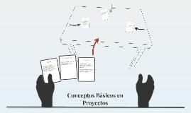 Conceptos Básicos en Proyectos