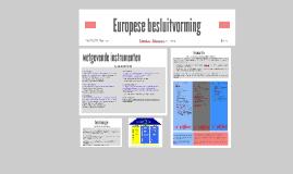 Europese besluitvorming