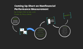 Coming Up Short on Nonfinancial Performance Measurement