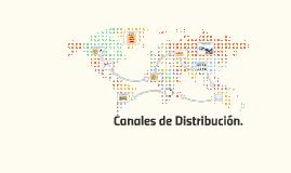 Canales de Distribución.