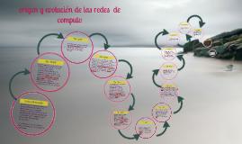 Copy of origen y evolucion de las redes  de computo