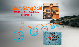 Eslam Samy Sec. Gen Candidature