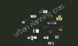 Urban Planning Eras