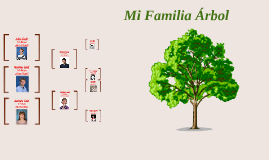 Mi familia árbol de Español~