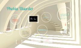 Phobia Disorder