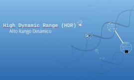 Rango Dinamico (HDR)
