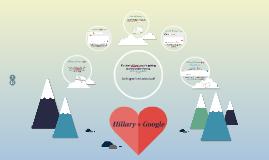 Hillary + Google