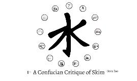 Confucius and Skim Best Buds