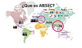 ¿Que es AIESEC?