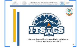 Presentación del Sistema de Gestión de Seguridad y Salud en