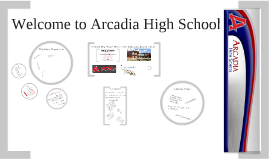 Welcome to Arcadia 2016 - Red Group