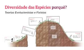 Copy of Evolução das Espécies