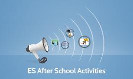 ES After School Activities