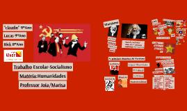 Trabalho Escolar-Socialismo