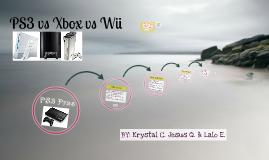 PS3 Vs. Xbox 360.