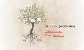 Árbol de problemas (Problemas socioculturales del comportamiento).