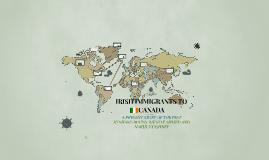 IRISH IMAGRANTS TO CANADA