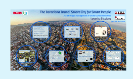 The Barcelona Brand: Smart City for Smart People