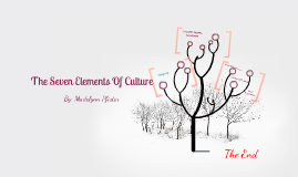 7 Elements Of culture