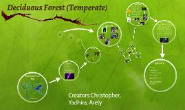 Deciduous Forest (Temperate)