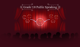 Copy of Grade 7/8 Public Speaking