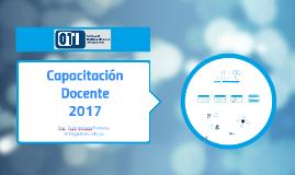 Capacitacion docente 2017