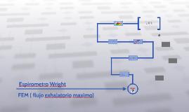 Espirometro Wright
