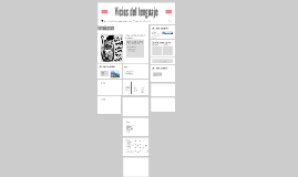 Copy of Vicios del lenguaje